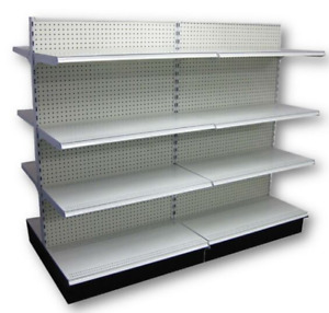 Retail Gondola Shelving Used
