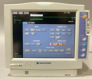 Nihon Kohden Bsm 5106a Patient Monitor Co2 Temp Ecg Nibp Nellcor Spo2