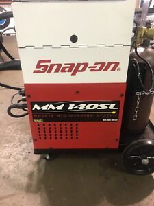 Snap on Welder Mm140sl muscle Mig