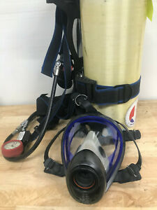 Survivair Sigma Scba Harness With 30 Minute Cylinder 2216 Psi Includes Mask