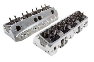 Brodix Ds 225 Aluminum Cylinder Head Sbc 2 Pc P n 1321000