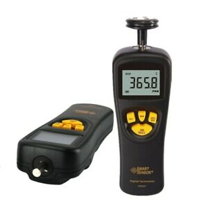 Digital Tachometer Rotational Speed Meter Contact Motor Rpm Meter Non Contact