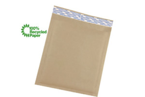 Kraft Bubble Mailer Brown Bags Mailers Padded Envelopes Paper Multiple Size