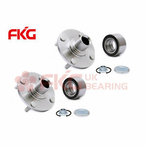 New Pair Front Wheel Bearing Hub Assembly Kits For 00 11 Ford Focus Fwd 518510