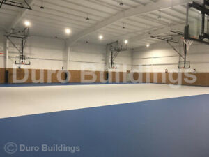 Durobeam Steel 100x104x22 Metal Building Prefab Custom Made To Order Gym Direct