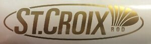 St Croix Decal Sticker Fishing Rod Elite Legend Inshore Avid Mojo Bass