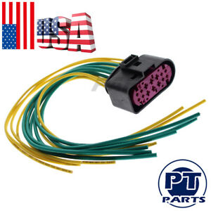 For Dodge Ram 1500 2500 Projector Headlight Connector Pigtail Xenon Hid 2013 18