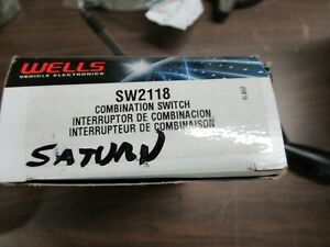 Saturn Combo Switch Made By Wells Sw 2118