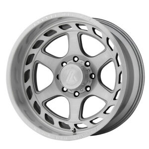 22 Asanti Off Road Anvil Grey Ab816 221087tb18n Set Of 4 Wheels Rims