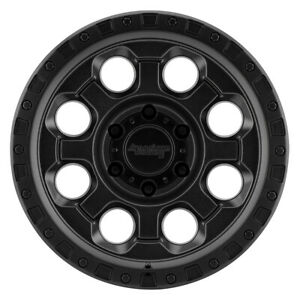 18 American Racing Ar201 Black Ar20189062740 Set Of 4 Wheels Rims