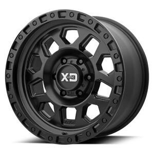 17 Xd Series Rg2 Black xd13278068725 Set Of 4 Wheels Rims