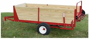 Manure Spreader horse Ground Driven 25 Bushel Made In The Usa