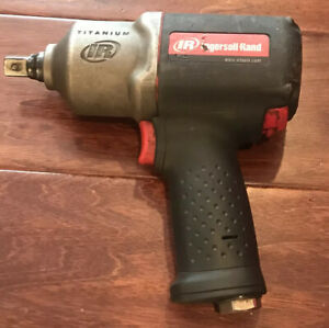 Ingersoll Rand 2135pti Titanium Ultra Duty 1 2 Drive Air Impact Wrench Working