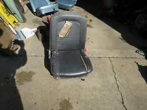 1965 1966 1967 Mustang Passenger Seat Right Oem Used Black