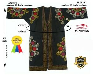 Embroidery Uzbek Beautiful Vintage Suzani Robe Dress Jacket Sale Was 139 00
