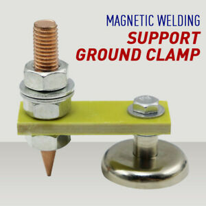1pc Metal Welding Magnet Head Magnetic Welding Support Ground Clamp Without Tail