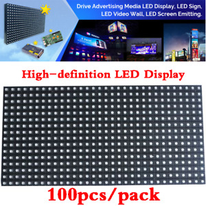 100pcs Led Display P6 16x32 Rgb Smd3 In 1 Plain Color Inside Led Matrix Panel
