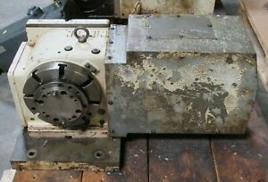 8 Nikken 4th Axis Cnc Rotary Table Cnc Z200lza Cncz200 Lza S n 8017 For Siemens