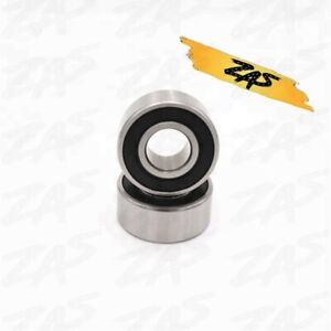 6306 2rs Rubber Sealed Deep Groove Ball Bearings 30x72x19 Mm