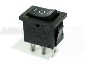 1pc Spdt Mini Rocker Switch Momentary on off on Kcd1 6a 250vac Usa Seller