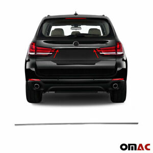 Chrome Grab Handle Cover Trunk Lid S Steel Fits Bmw X5 2013 2018