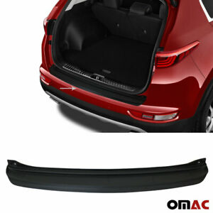 Rear Bumper Guard Sill Cover Matt Black Abs Plastic For Kia Sportage 2017 2018