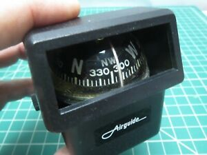 Vintage Car Truck Airguide Accessory Compass Dash Windshield Ford Chevy Dodge