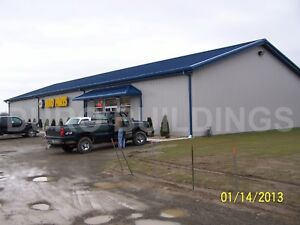 Durobeam Steel 50x100x16 Metal Building Prefab Auto Part Store Workshop Direct