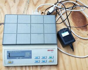 Ascom Ae3 9001 Postal Shipping Meter Digital Postage Scale Works Excellent