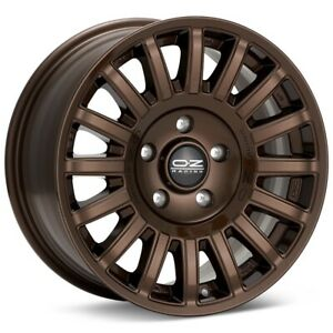O z Racing Rally Raid 17x8 5x114 3 Et40 Bronze 4 Wheels