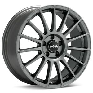 O z Racing Superturismo Lm 17x7 5 5x114 3 Et45 Matte Graphite 4 Wheels