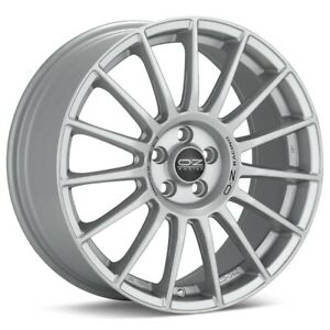 O z Racing Superturismo Lm 17x7 5 5x114 3 Et45 Silver 4 Wheels