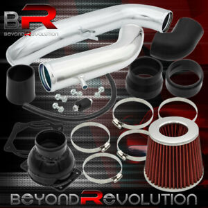 Polished Aluminum Cold Air Intake For 91 99 Mitsubishi 3000gt Dodge Stealth N T