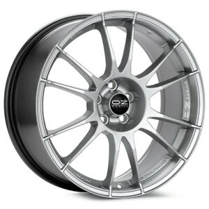O z Racing Ultraleggera 17x8 5x114 3 Et48 Bright Silver 4 Wheels