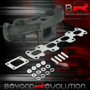 For 1994 2005 Mazda Miata Nb 1 8l T3 T4 Cast Iron Turbo Charger Exhaust Manifold