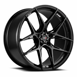 21 Savini Sv F5 Gloss Black 21x9 21x10 5 Concave Wheels Rims Fits Jaguar Xkr