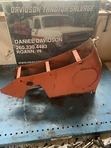 Allis Chalmers B c Tool Box With Ross Steering Antique Tractor