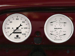 1951 1952 Chevy Car Billet Aluminum Gauge Panel Dash Insert Instrument Cluster