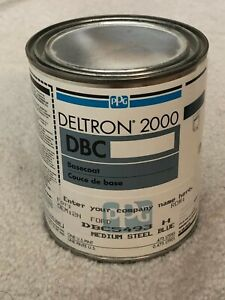 Ppg Deltron 2000 Basecoat Dbc5493 H Ford Medium Steel Blue
