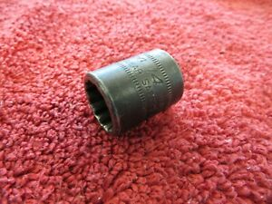 Snap On Imdfm14 3 8 Drive Metric 14 Mm 12 Point Impact Shallow Socket