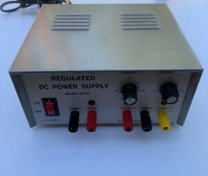 R s r Electronics Regulated Dc Power Supply Model 3010