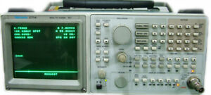 Tektronix 2714 Spectrum Analyzer For Catv 1 8ghz 75ohm Opt 2707 Tg