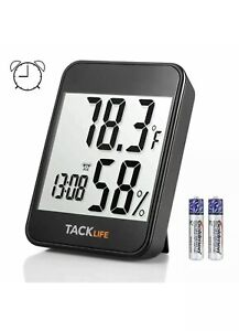 Tacklife Test Measure Humidity Monitor Hm02 Thermohygrometers New