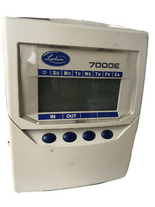 Lathem 7000e Calculating Time Recorder Time Card Punch