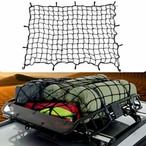 47 X39 Car Truck Suv Luggage Rooftop Rack Carrier Cargo Mesh Basket Net Cover