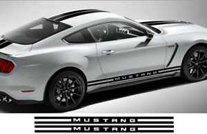 Ford Mustang Rocker Panel Stripes 1994 To 2018