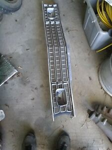 1973 1974 Plymouth Duster Valiant Scamp Oem Used Grille With Bezels