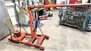 Counterbalanced Floor Crane Cherry Picker Engine Hoist Spreuer