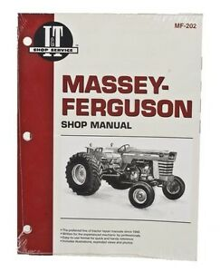 I t Shop Manual For Massey Ferguson 175 180 205 210 220 2675 2705 2745 2775 2805
