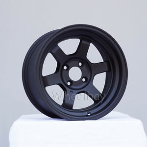 4 Rota Wheel Grid V 15x8 4x114 3 0 Fblack 240z Ae86 Celica In Stock Last Set